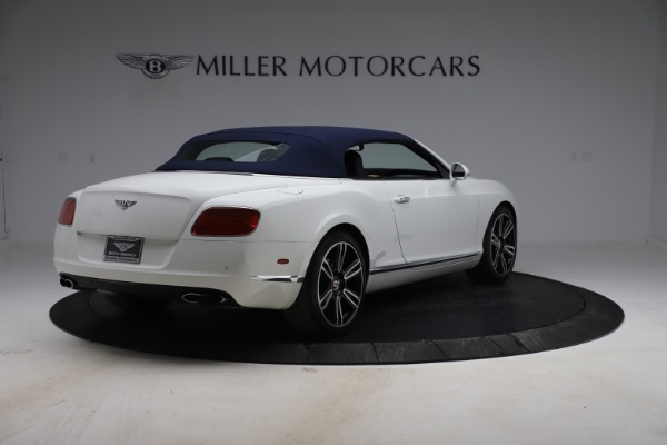 Used 2015 Bentley Continental GTC V8 for sale $119,900 at Maserati of Westport in Westport CT 06880 17