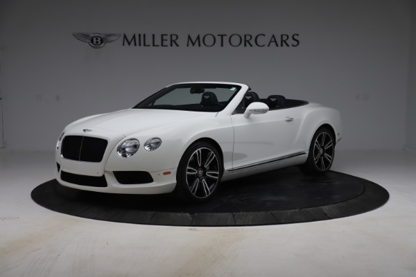 Used 2015 Bentley Continental GTC V8 for sale $119,900 at Maserati of Westport in Westport CT 06880 2