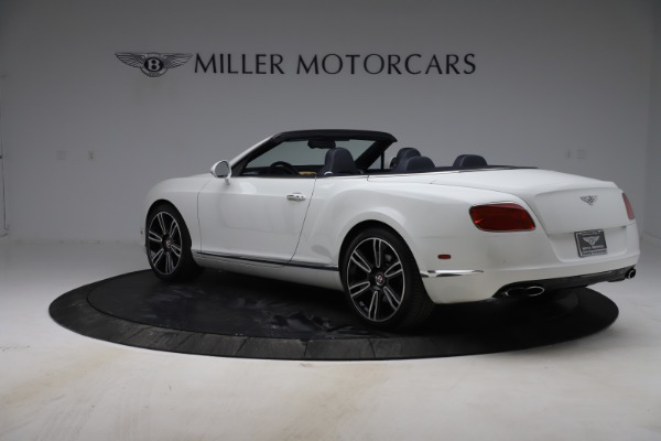 Used 2015 Bentley Continental GTC V8 for sale $119,900 at Maserati of Westport in Westport CT 06880 5