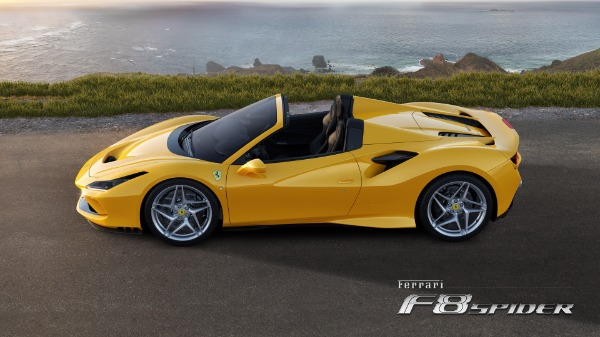 New 2021 Ferrari F8 Spider for sale Call for price at Maserati of Westport in Westport CT 06880 2