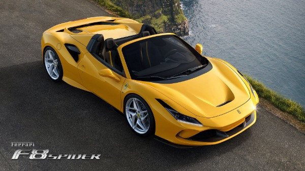 New 2020 Ferrari F8 Spider for sale Call for price at Maserati of Westport in Westport CT 06880 3
