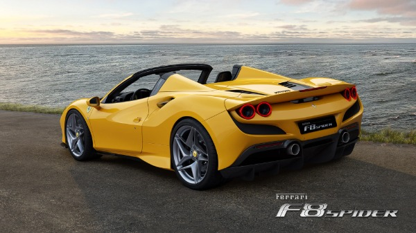 New 2021 Ferrari F8 Spider for sale Call for price at Maserati of Westport in Westport CT 06880 4