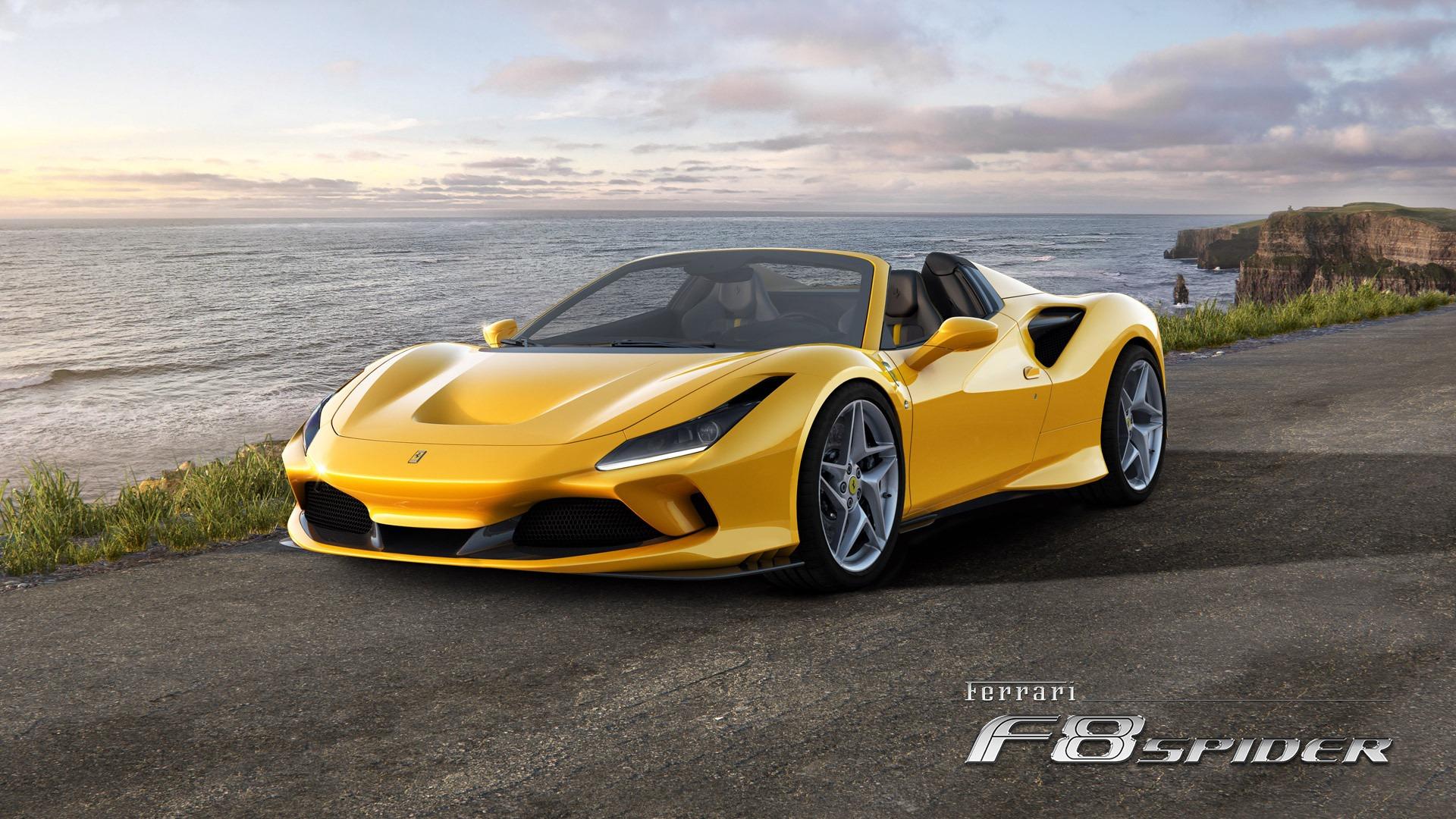 New 2020 Ferrari F8 Spider for sale Call for price at Maserati of Westport in Westport CT 06880 1