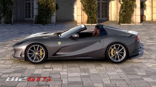 New 2021 Ferrari 812GTS for sale Call for price at Maserati of Westport in Westport CT 06880 3