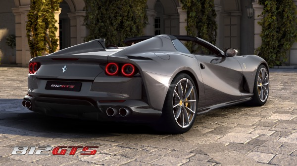 New 2020 Ferrari 812GTS for sale Call for price at Maserati of Westport in Westport CT 06880 5