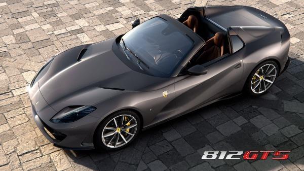 New 2021 Ferrari 812GTS for sale Call for price at Maserati of Westport in Westport CT 06880 1
