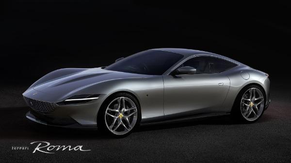 New 2021 Ferrari Roma for sale Call for price at Maserati of Westport in Westport CT 06880 1