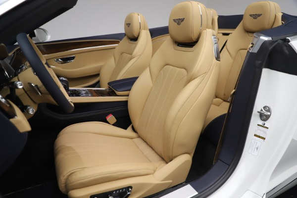 New 2020 Bentley Continental GTC V8 for sale $262,475 at Maserati of Westport in Westport CT 06880 26