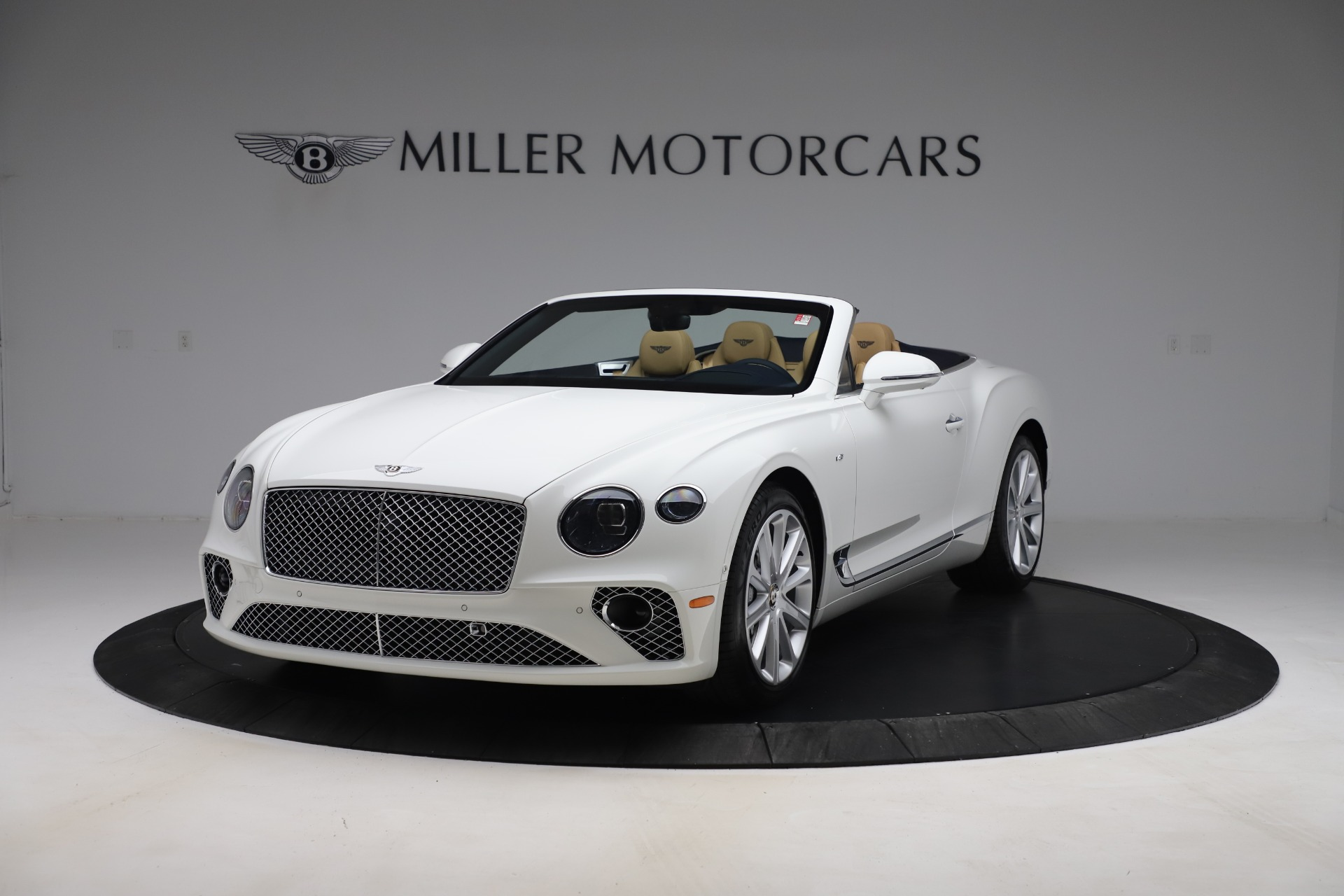 New 2020 Bentley Continental GTC V8 for sale $262,475 at Maserati of Westport in Westport CT 06880 1