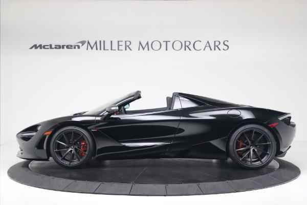New 2020 McLaren 720S Spider Convertible for sale $383,090 at Maserati of Westport in Westport CT 06880 2