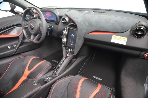 New 2020 McLaren 720S Spider Convertible for sale $383,090 at Maserati of Westport in Westport CT 06880 26