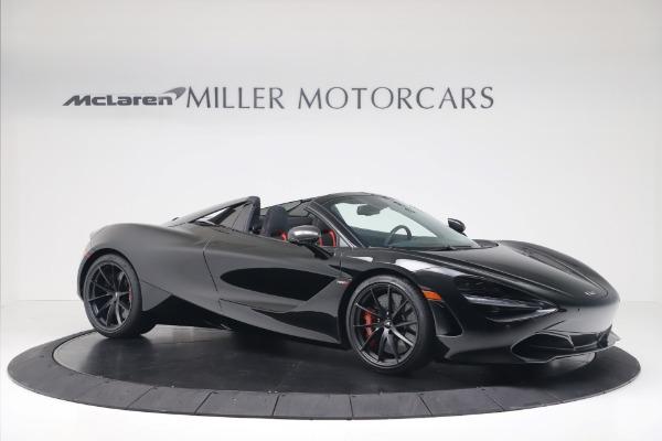 New 2020 McLaren 720S Spider Convertible for sale $383,090 at Maserati of Westport in Westport CT 06880 9