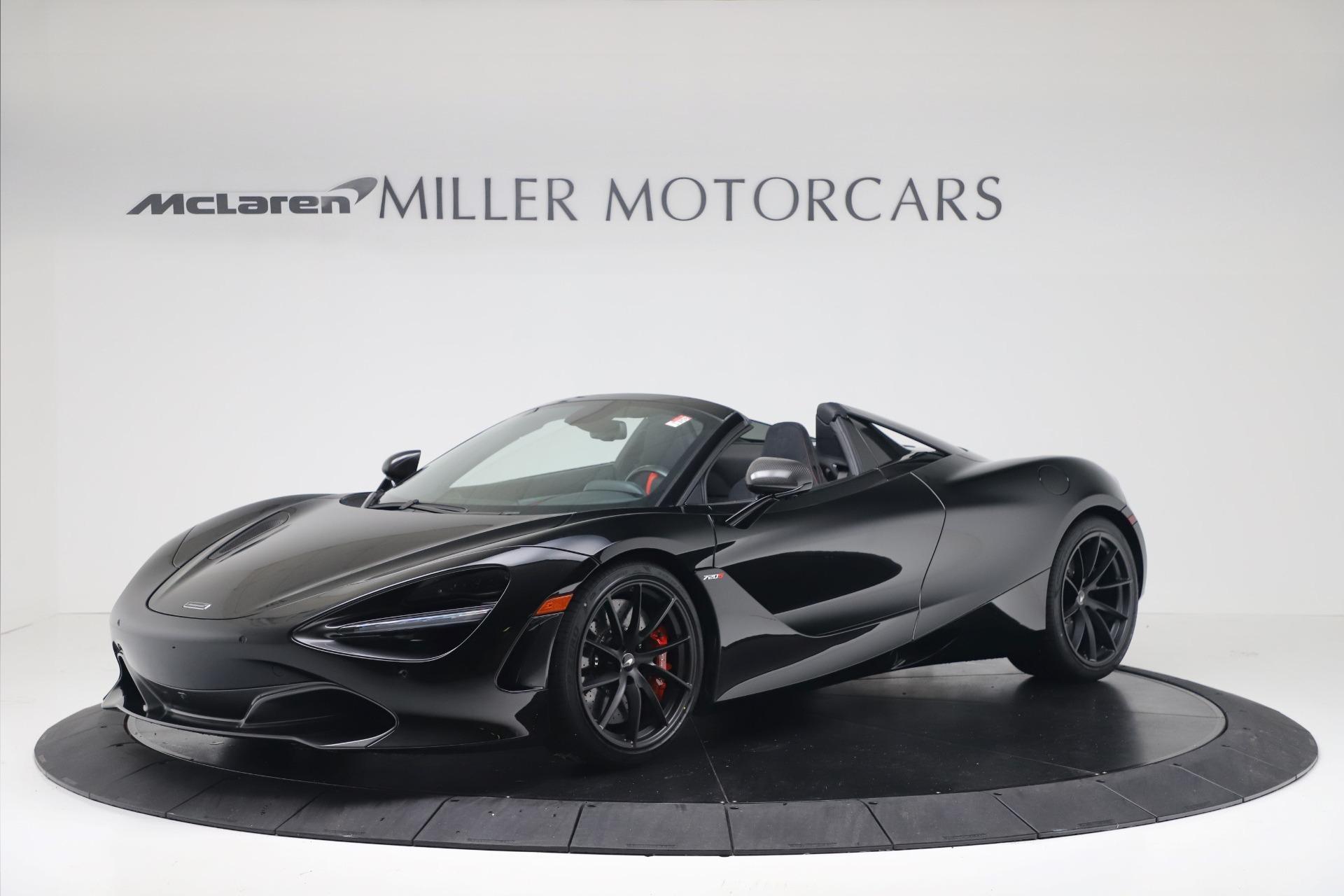 New 2020 McLaren 720S Spider Convertible for sale $383,090 at Maserati of Westport in Westport CT 06880 1