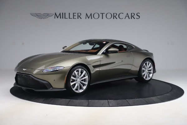 New 2020 Aston Martin Vantage Coupe for sale $180,450 at Maserati of Westport in Westport CT 06880 1