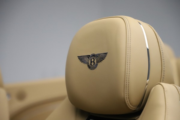 New 2020 Bentley Continental GTC V8 for sale $262,475 at Maserati of Westport in Westport CT 06880 25