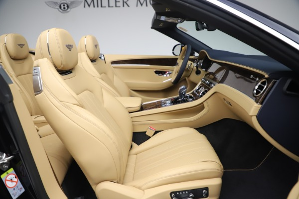 New 2020 Bentley Continental GTC V8 for sale $262,475 at Maserati of Westport in Westport CT 06880 28