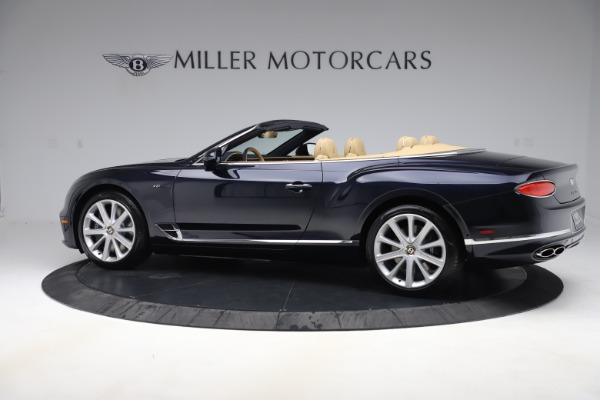 New 2020 Bentley Continental GTC V8 for sale $262,475 at Maserati of Westport in Westport CT 06880 3