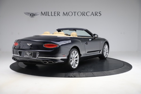 New 2020 Bentley Continental GTC V8 for sale $262,475 at Maserati of Westport in Westport CT 06880 6
