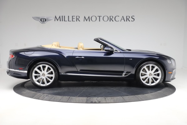 New 2020 Bentley Continental GTC V8 for sale $262,475 at Maserati of Westport in Westport CT 06880 8