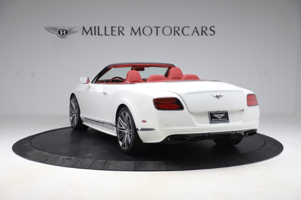 Used 2015 Bentley Continental GTC Speed for sale $125,900 at Maserati of Westport in Westport CT 06880 5