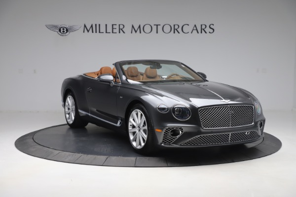 New 2020 Bentley Continental GTC V8 for sale $266,665 at Maserati of Westport in Westport CT 06880 11