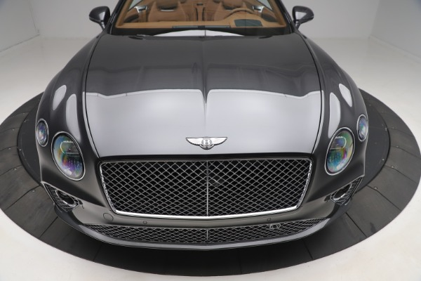 New 2020 Bentley Continental GTC V8 for sale $266,665 at Maserati of Westport in Westport CT 06880 12