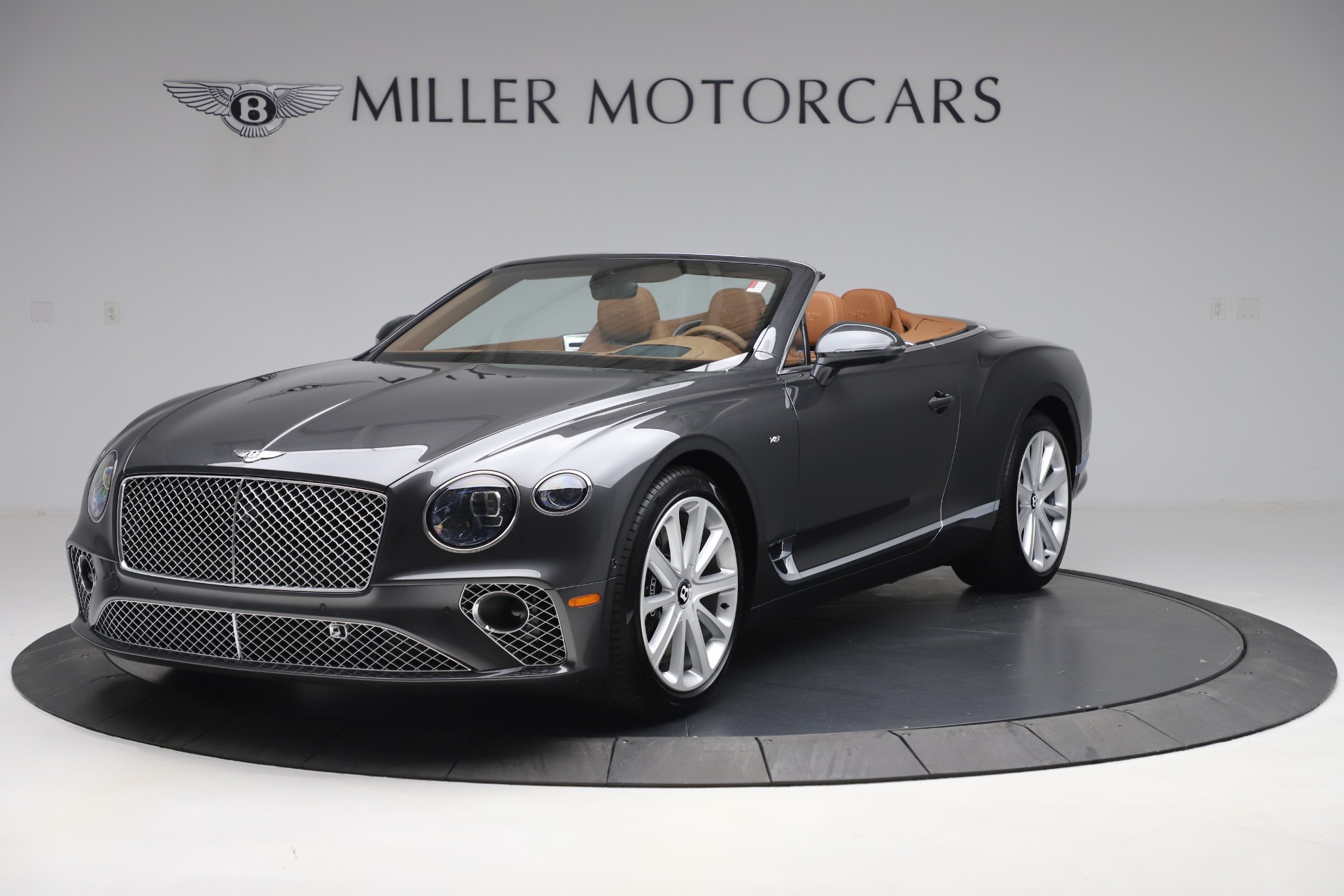 New 2020 Bentley Continental GTC V8 for sale $266,665 at Maserati of Westport in Westport CT 06880 1
