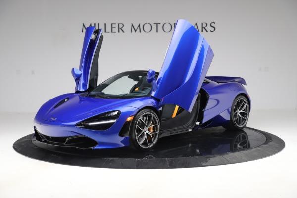 New 2020 McLaren 720S Spider Convertible for sale $364,090 at Maserati of Westport in Westport CT 06880 10