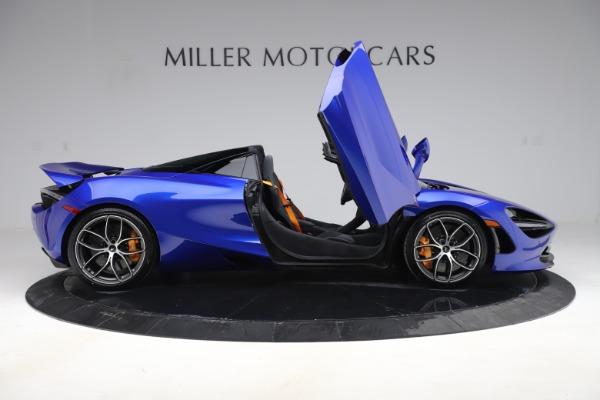 New 2020 McLaren 720S Spider Convertible for sale $364,090 at Maserati of Westport in Westport CT 06880 15