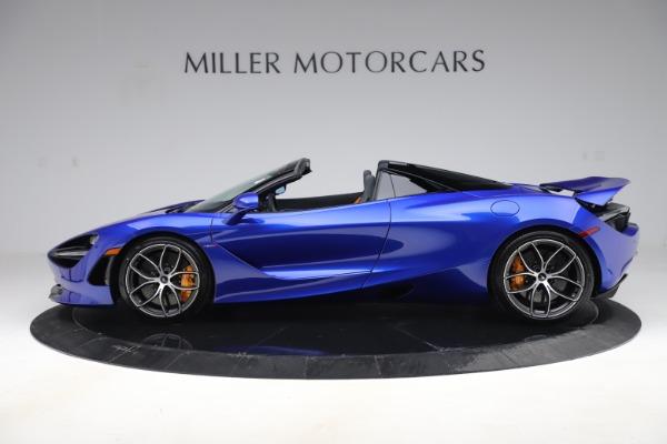 New 2020 McLaren 720S Spider Convertible for sale $364,090 at Maserati of Westport in Westport CT 06880 2