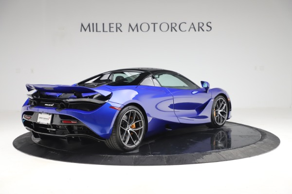 New 2020 McLaren 720S Spider Convertible for sale $364,090 at Maserati of Westport in Westport CT 06880 22