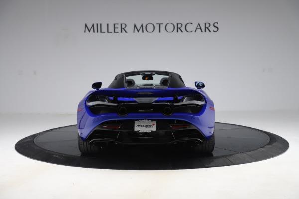 New 2020 McLaren 720S Spider Convertible for sale $364,090 at Maserati of Westport in Westport CT 06880 4