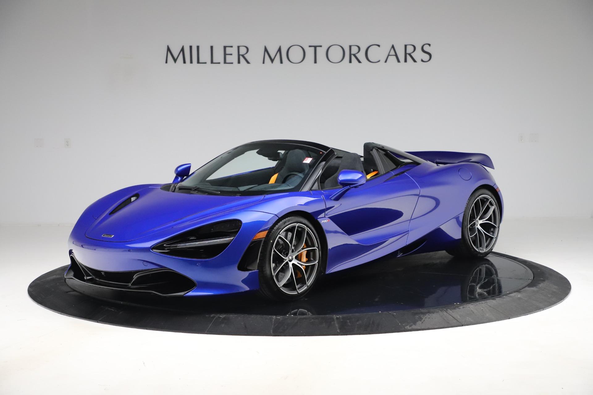New 2020 McLaren 720S Spider Convertible for sale $364,090 at Maserati of Westport in Westport CT 06880 1