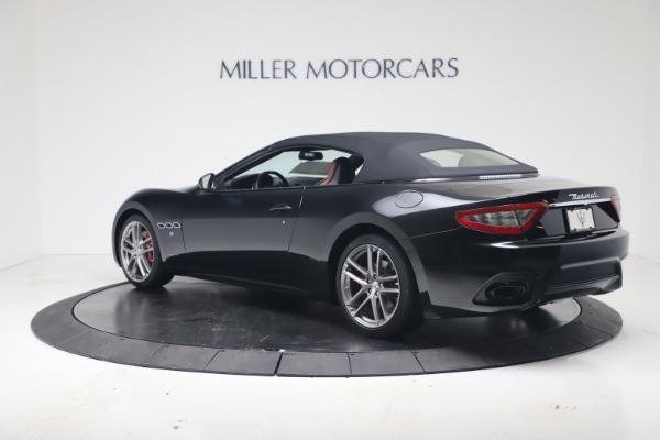 New 2019 Maserati GranTurismo Sport Convertible for sale $165,645 at Maserati of Westport in Westport CT 06880 15