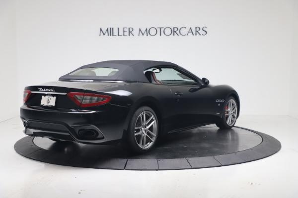 New 2019 Maserati GranTurismo Sport Convertible for sale $165,645 at Maserati of Westport in Westport CT 06880 16