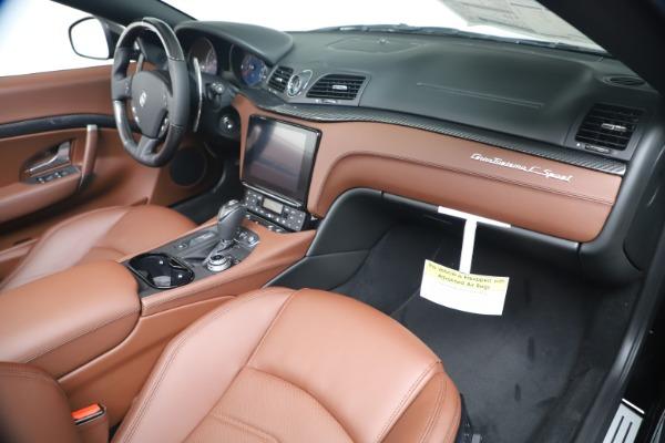 New 2019 Maserati GranTurismo Sport Convertible for sale $165,645 at Maserati of Westport in Westport CT 06880 26
