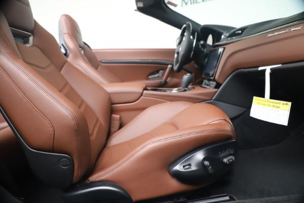 New 2019 Maserati GranTurismo Sport Convertible for sale $165,645 at Maserati of Westport in Westport CT 06880 27
