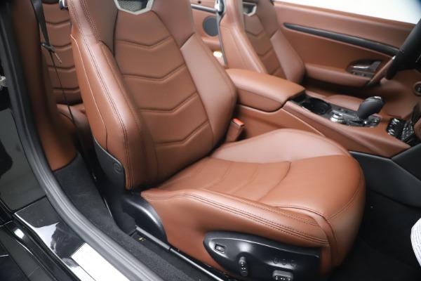 New 2019 Maserati GranTurismo Sport Convertible for sale $165,645 at Maserati of Westport in Westport CT 06880 28