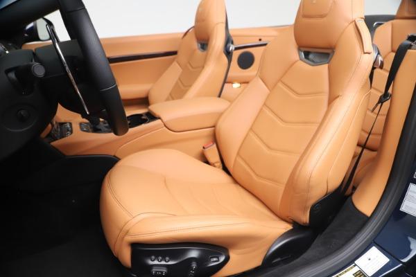New 2019 Maserati GranTurismo Sport Convertible for sale Sold at Maserati of Westport in Westport CT 06880 21