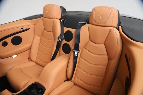 New 2019 Maserati GranTurismo Sport Convertible for sale Sold at Maserati of Westport in Westport CT 06880 24