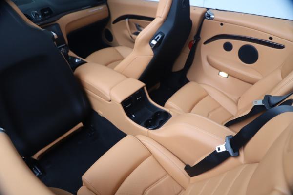 New 2019 Maserati GranTurismo Sport Convertible for sale Sold at Maserati of Westport in Westport CT 06880 25