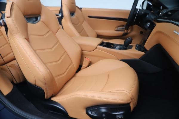 New 2019 Maserati GranTurismo Sport Convertible for sale Sold at Maserati of Westport in Westport CT 06880 28