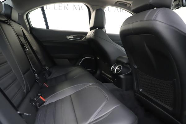 New 2019 Alfa Romeo Giulia Ti Sport Q4 for sale Sold at Maserati of Westport in Westport CT 06880 27
