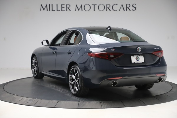 New 2019 Alfa Romeo Giulia Q4 for sale Sold at Maserati of Westport in Westport CT 06880 5