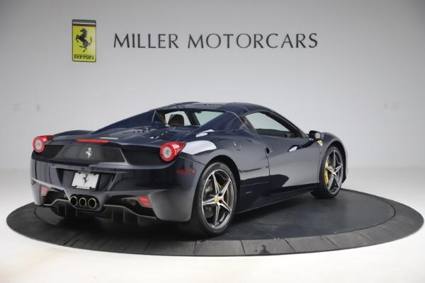 Used 2012 Ferrari 458 Spider for sale Sold at Maserati of Westport in Westport CT 06880 16