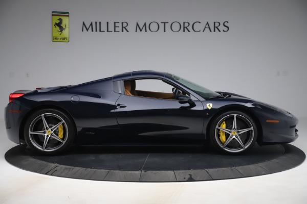 Used 2012 Ferrari 458 Spider for sale Sold at Maserati of Westport in Westport CT 06880 17