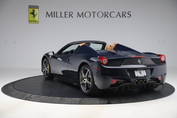 Used 2012 Ferrari 458 Spider for sale Sold at Maserati of Westport in Westport CT 06880 5