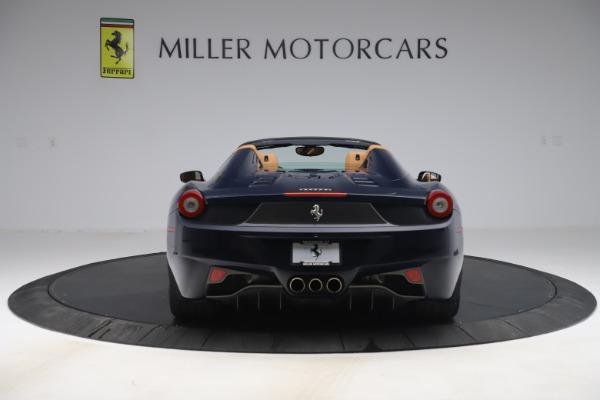 Used 2012 Ferrari 458 Spider for sale Sold at Maserati of Westport in Westport CT 06880 6