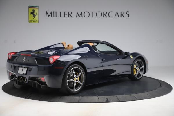 Used 2012 Ferrari 458 Spider for sale Sold at Maserati of Westport in Westport CT 06880 8