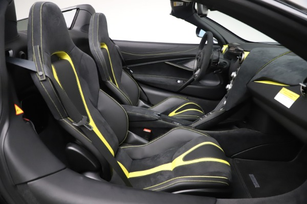 Used 2020 McLaren 720S Spider Convertible for sale Sold at Maserati of Westport in Westport CT 06880 25